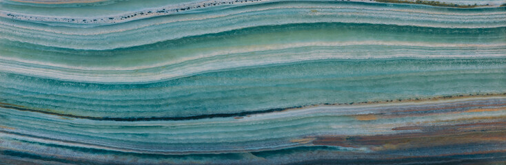 agate texture, turquoise sea background