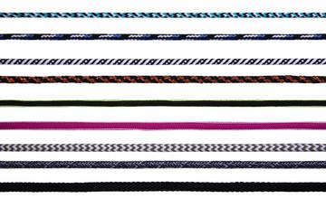 Elastic band webbing
