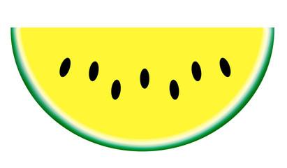 黄色いスイカ