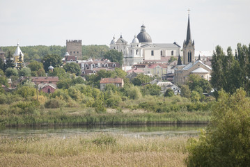 Panorama of the old town Lutsk