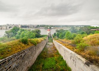 Perimeter defences at a fort Fototapete