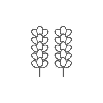 Linalool, marijuana icon. Element of marijuana icon. Thin line icon for website design and development, app development. Premium icon