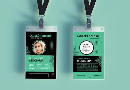 Office Badge Mockup