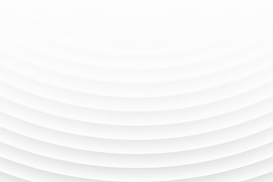 Clear Blank White Subtle Geometrical Abstract Background In Ultra High Definition Quality. Light Empty Surface. 3D Conceptual Technological Illustration. Minimalist Wallpaper