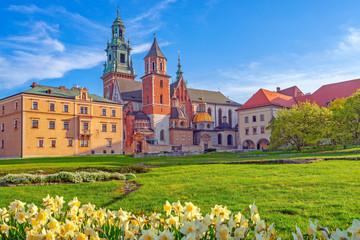 Obraz Wawel w Krakowie - fototapety do salonu