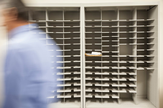 Mail room close up