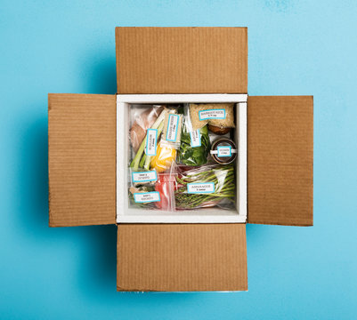 Shipped Recipe Healthy Meal Kit In Box