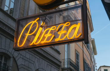 Pizza Sign.