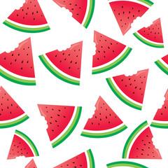 Beautiful watermelon pattern