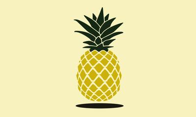 pineapple vector design illustration fruit summer