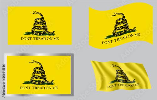 Gadsden Don't Tread On Me Flag of 1776