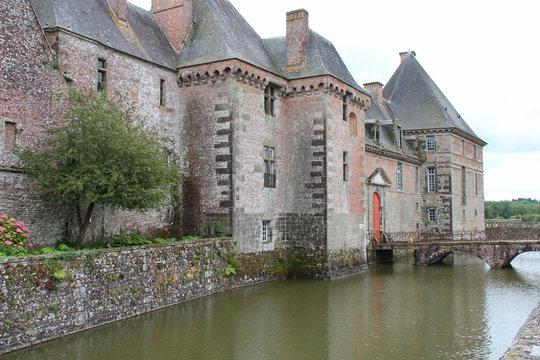 castle - carrouges - france