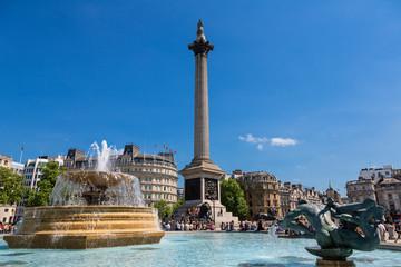 London, the Famous Trafalgar square