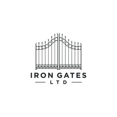 Gate logo design