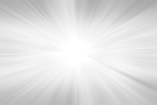 Radial abstract background. Grey gradient ray burst background