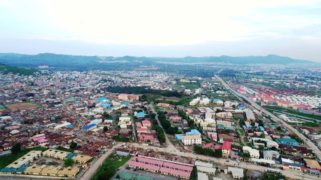 Typical Satelite Town in Abuja Nigeria