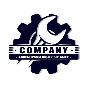 Repair logo. vector and illustration.