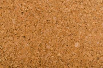 Brown cork texture. Corkboard background