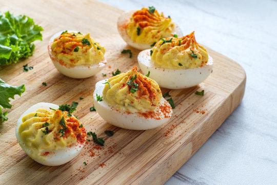 Deviled Eggs Paprika