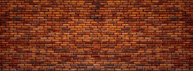 Old red bricks wall. Wall mural