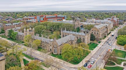 University of Michigan Law School, Ann Arbor Wall mural
