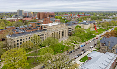 University of Michigan, Ann Arbor Wall mural