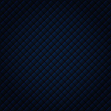 Abstract black and blue subtle lattice square pattern background and texture. Luxury style. Repeat geometric grid.