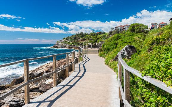 Beautiful coast of Bondi, Australia