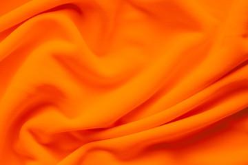 Background texture of orange fleece