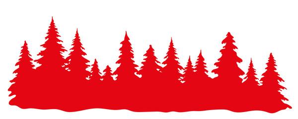 Wald Weihnachten
