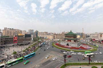 Foto op Aluminium Xian torre della Campana, Xi'an