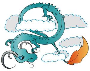 Serpentine Sky Dragon
