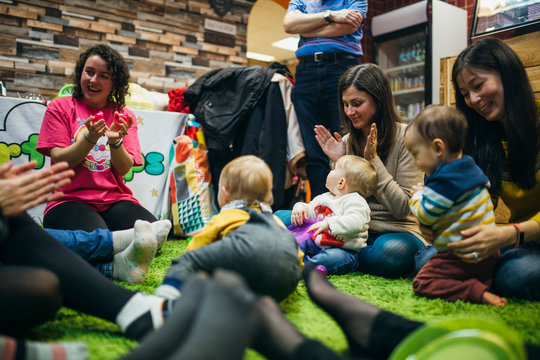 Baby and Mother Sensory Play Group