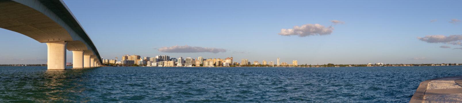 Sarasota Florida Panorama