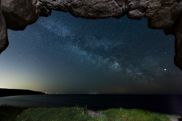 Winspit Quarry Milky Way 14 image stack