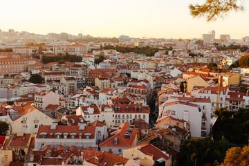 Sunset over Lisbon Porgual