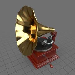 Vintage phonograph