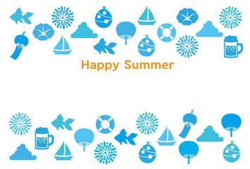 暑中見舞い 日本 夏