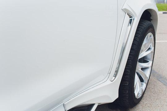Tuned Customised Cars kit car white body.