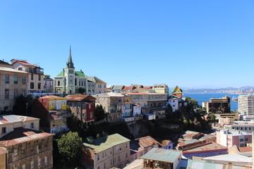 Zelfklevend Fotobehang Palermo Valparaíso
