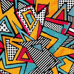 Poster Graffiti psychedelic abstract graffiti background