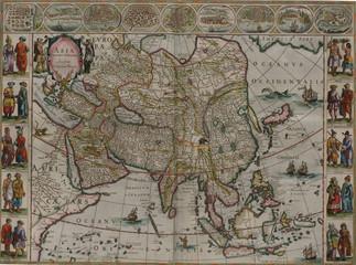 Wall Mural - Vintage medieval map
