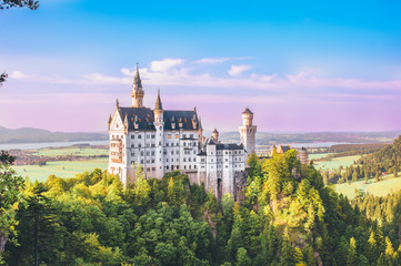 The New Swanston Castle or  Neuschwanstein Castle is a 19th-century Romanesque Revival palace located in southwest Bavaria, Germany.