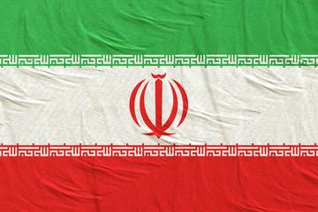 3d rendering of Iran flag