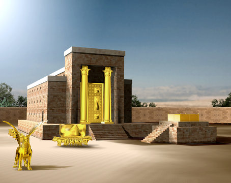 Jewish First Temple of Solomon
