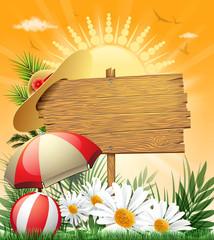 season wood sign