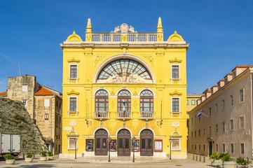 Fototapete - Croatian National Theater in Split, Croatia