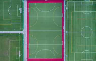 Soccer field symmetry