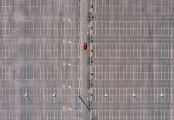 Aerial Parking lot 2