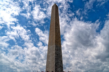 Wall Mural - washington memorial obelisc monument in dc